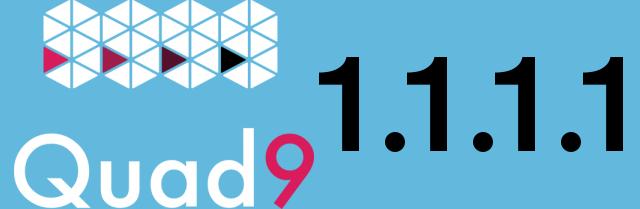 Logo Quad9 und 1.1.1.1